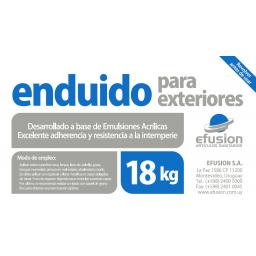ENDUIDO PARA EXTERIORES 18KG