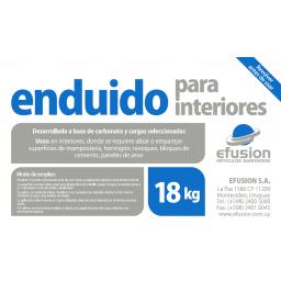 ENDUIDO PARA INTERIORES 18KG