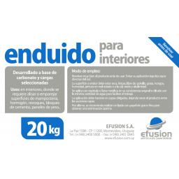 ENDUIDO PARA INTERIORES 20KG