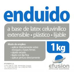 ENDUIDO PARA INTERIORES 1KG