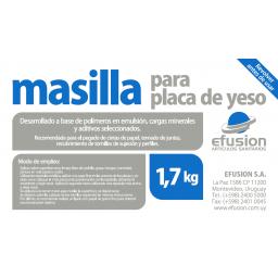 MASILLA PARA YESO 1.7KG