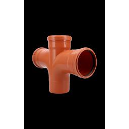RAMAL DOBLE 87º30´ M/H 110x110mm
