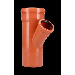 RAMAL Y 45º M/H REDUCCIÓN 110x63mm